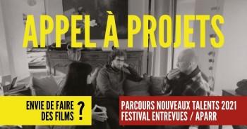 Envie de faire des films ? Participez au Parcours Nouveaux Talents /Talents en court 2021