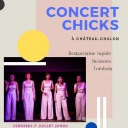 Affiche concert Juillet 2020 Château chalon