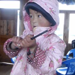Une enfant népalaise