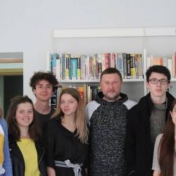Rencontre avec l'artiste ukrainien ,Kostiantyn Doroshenko