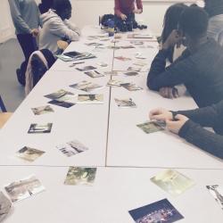 Atelier au Lycée Le Castel - novembre 2018
