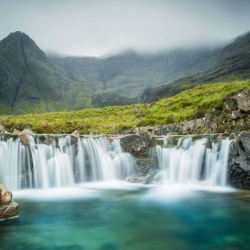 La piscine des fées de l'île de Skye