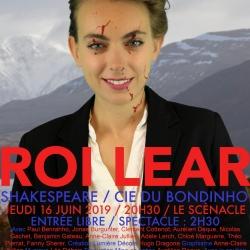 Maquette de l'affiche Goneril